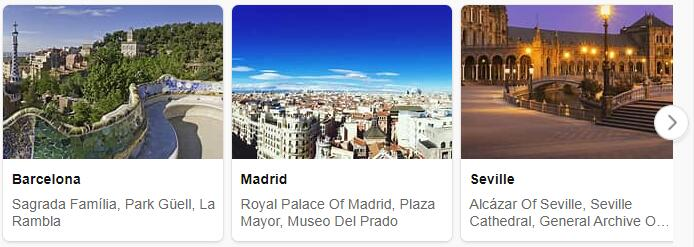 Spain Package Tours